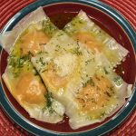 Easy Squash Ravioli With Rosemary Oil