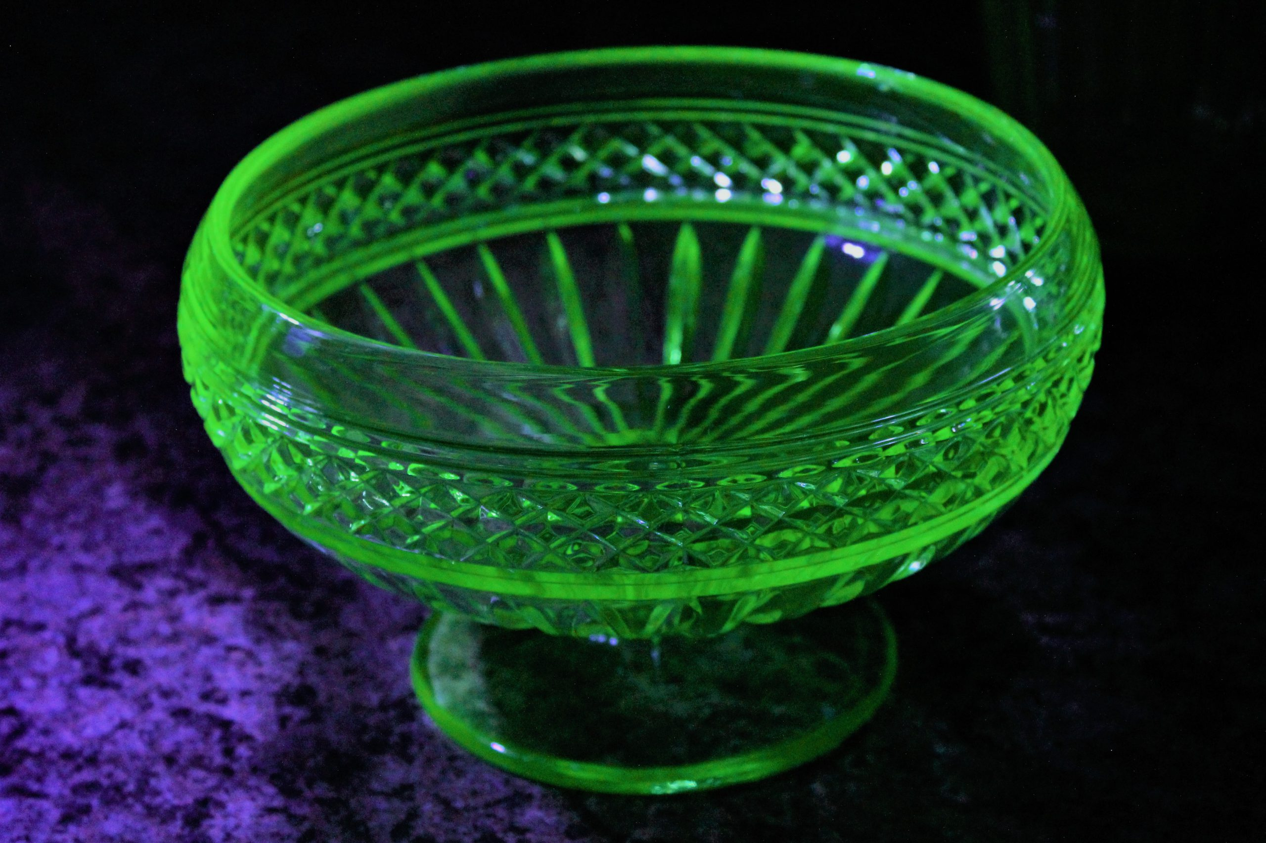 My most radioactive fancy bowl