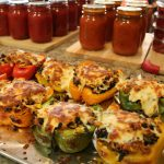 Garden Vegetable Stuffed Peppers