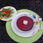 Blueberry Raspberry Soup