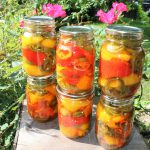 Pickled Roasted Bell Peppers