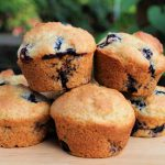Easy Blueberry Muffin