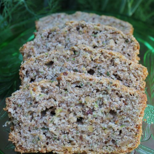 Zucchini Dill Loaf With Toasted Walnuts Cansanity